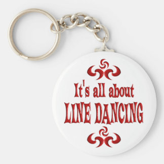 ALL ABOUT LINE DANCING KEYCHAIN