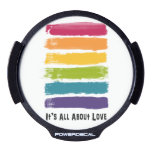 All About Love Pride Decal LED Window Decal