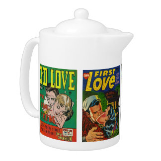 ALL ABOUT LOVE TEAPOT