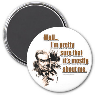 All About Me... 3 Inch Round Magnet