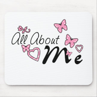 All About Me Mouse Pad