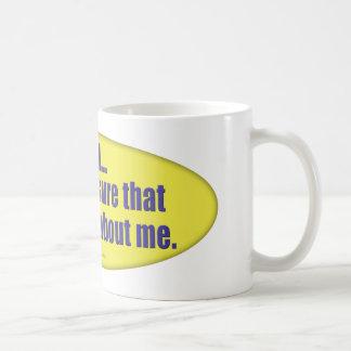 All About Me... Mug