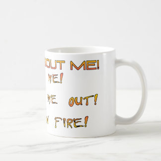ALL ABOUT ME COFFEE MUG