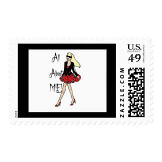 All About ME! Postage Stamp