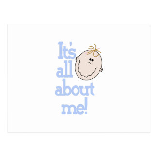 All About Me! Postcard