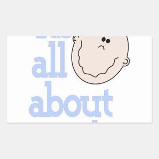 All About Me! Rectangular Sticker