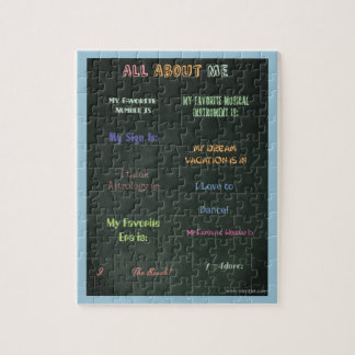 All About Me too Jigsaw Puzzle