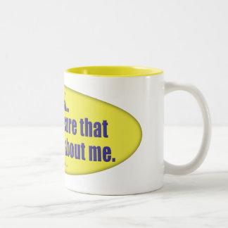 All About Me... Two-Tone Coffee Mug