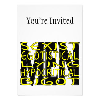 All About Men Invites