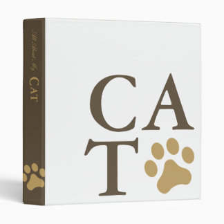 All About My Cat Binder