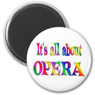 All About Opera Fridge Magnets