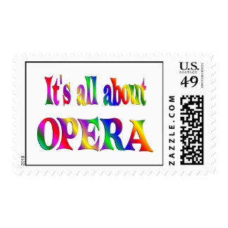 All About Opera Postage Stamps