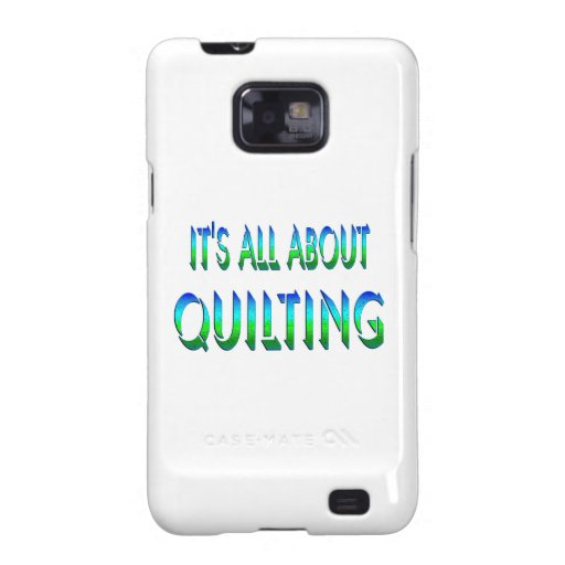 All About Quilting Galaxy SII Cover
