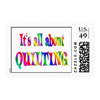 All About Quilting Postage
