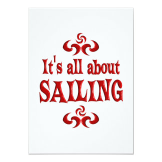 ALL ABOUT SAILING CARD