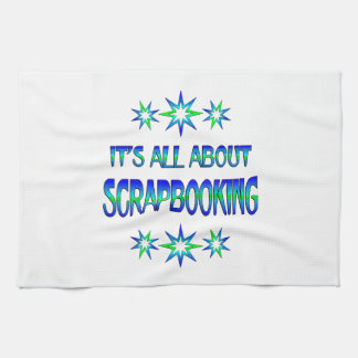 All About Scrapbooking Towel