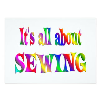 All About Sewing Card