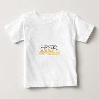 All About Speed Baby T-Shirt