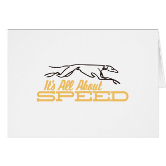 All About Speed Card