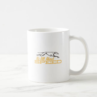 All About Speed Coffee Mug