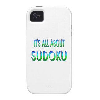 All About Sudoku iPhone 4/4S Case