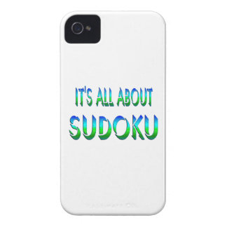All About Sudoku iPhone 4 Covers