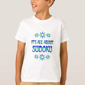 All About Sudoku T-Shirt