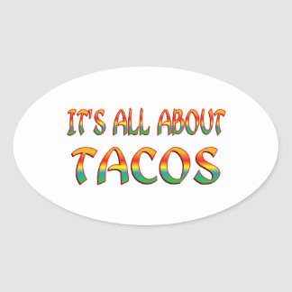 All About Tacos Sticker