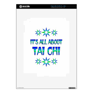 All About Tai Chi Decal For The iPad 2