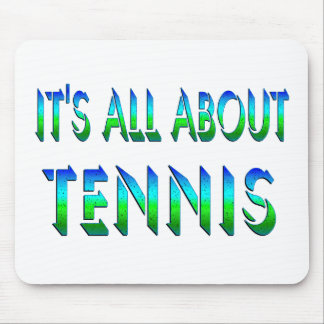 All About Tennis Mouse Pad