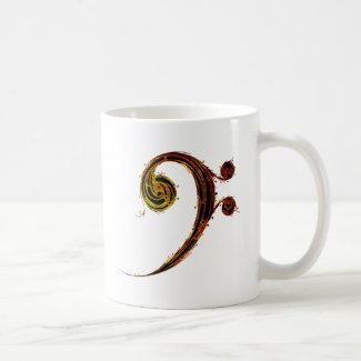 All About That Bass - Bass Clef Coffee Mug