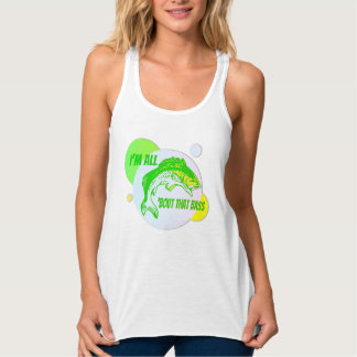 All About That Bass Flowy Racerback Tank Top