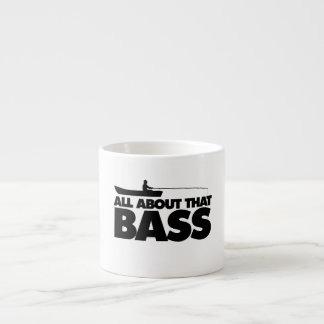 All about that bass no bluegill espresso cup