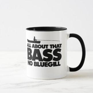 All about that bass no bluegill mug