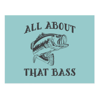 All About That Bass Postcard