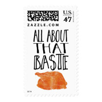 All About That Baste Thanksgiving Turkey Postage