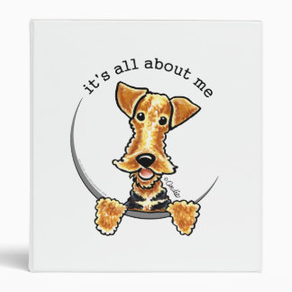 All About the Airedale Terrier 3 Ring Binders