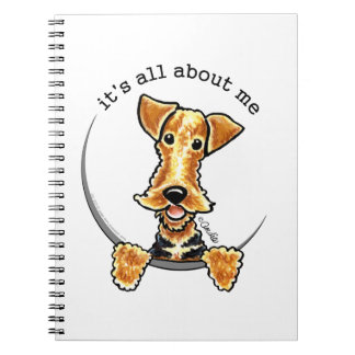 All About the Airedale Terrier Spiral Notebook