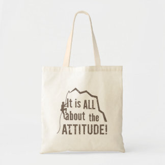 All About the Attitude Altitude Rock Climbing Tote