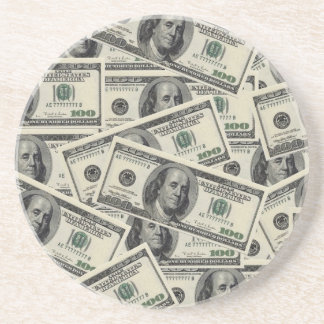 All About The Benjamins Beverage Coasters