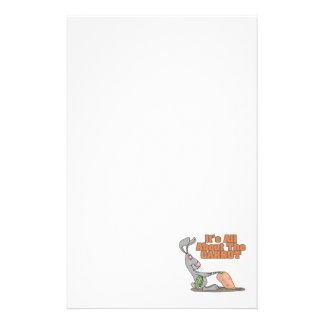 all about the carrot funny bunny rabbit cartoon stationery
