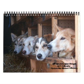 All About the Dogs Calendar