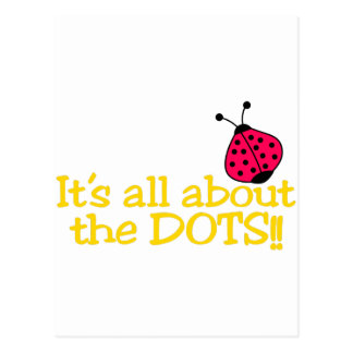 All About The Dots Postcard