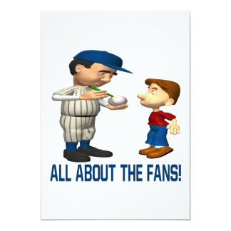 All About The Fans Card
