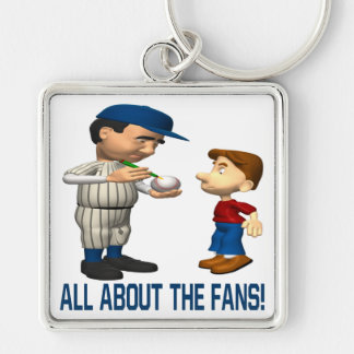 All About The Fans Keychain