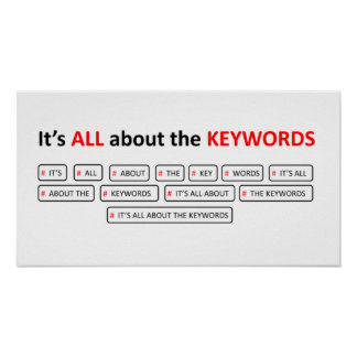 ALL about the KEYWORDS Poster