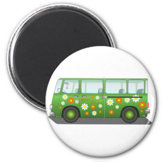 All about the love bus magnet