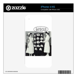 All about the Nurse Uniform iPhone 4 Skins