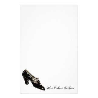 All about the shoes... stationery paper