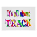 All About Track Posters